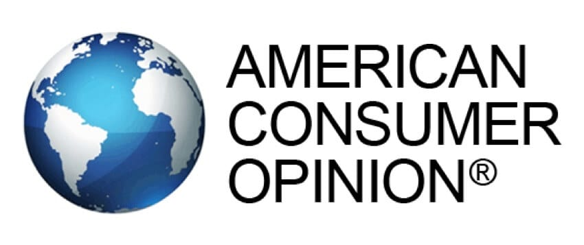 make $100 per survey with american consumer opinion